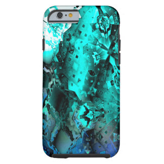 Escape the Hive (aqua) Tough iPhone 6 Hoesje