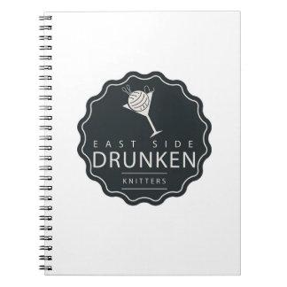 ESDK klassiek logo spiraalvormig notitieboekje Ringband Notitieboek