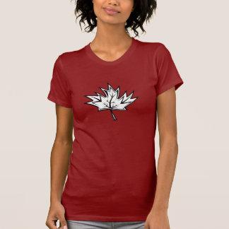 Esdoorn-blad T Shirt