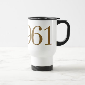 Est 1961 (het Jaar van de Geboorte) Reisbeker