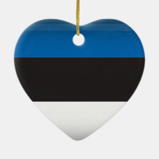 Estland Keramisch Hart Ornament