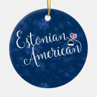 Estlandse Amerikaanse Harten, het Ornament van de