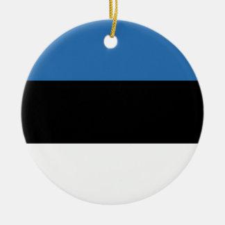 Estlandse Falg Rond Keramisch Ornament