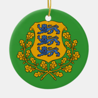 ESTONIA* het Ornament van Kerstmis van de douane