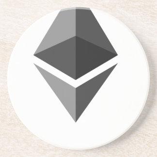 Ethereum Zandsteen Onderzetter