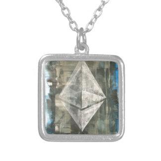 Ethereum Zilver Vergulden Ketting