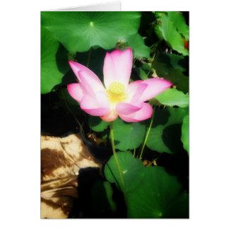 Etherische lotusbloem briefkaarten 0