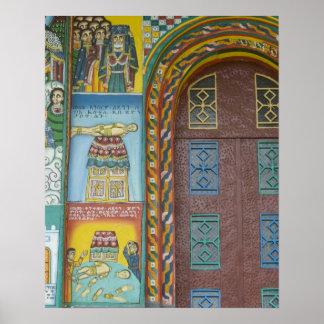 Ethiopië:  Het Gebied van Tigray, Axum, de Kerk va Poster