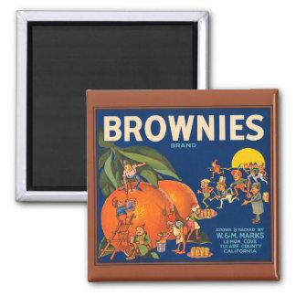 Etiket Magn van het Krat van het Fruit Vintage Magneet