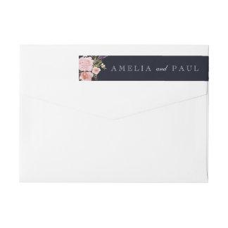 Etiket van de Envelop van het Huwelijk van de