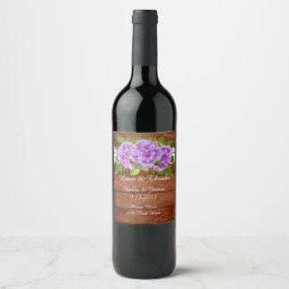 Etiket van de Wijn van het Huwelijk van de