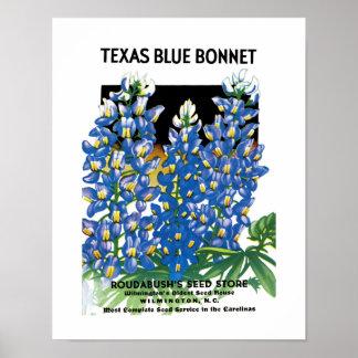 Etiket van het Pakket van het Zaad van de Bonnet Poster