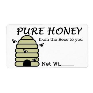 Etiketten voor Honing