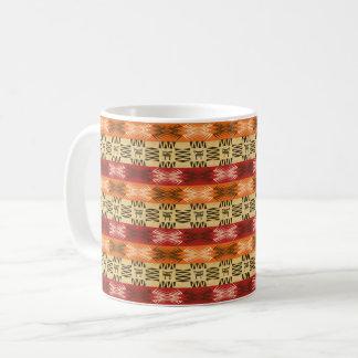 etnisch Afrikaans naadloos patroon Koffiemok