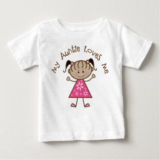 Etnisch houdt Mijn Tante van me Gift Baby T Shirts