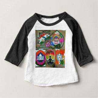 Etnisch Indisch ontwerp Baby T Shirts