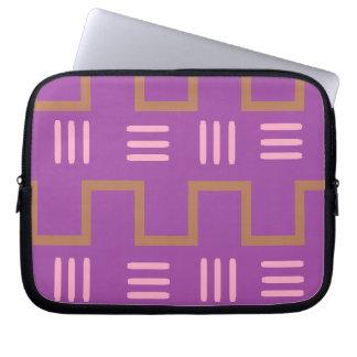 Etnisch Laptop van de Doek van de Modder Sleeve