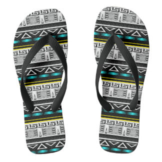 Etnisch ornament teenslippers