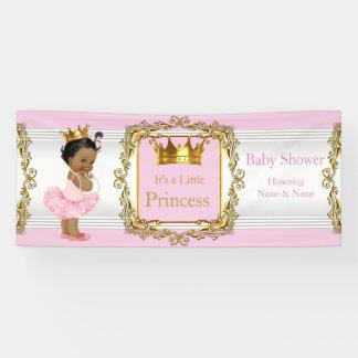 Etnisch van het Baby shower van de prinses Roze Spandoek