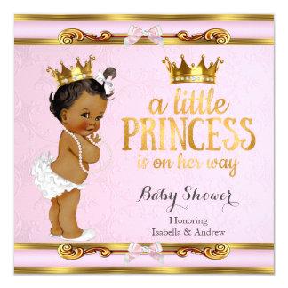 Etnisch Weinig Roze Goud van het Baby shower van Kaart