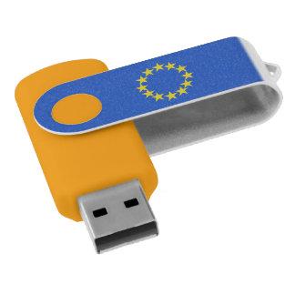 Euro van de Natie van de Sterren van de Vlag van USB Stick