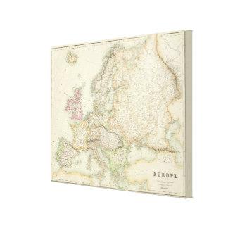 Europa 28 canvas print