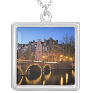 Europa, Nederland, Holland, Amsterdam, Zilver Vergulden Ketting
