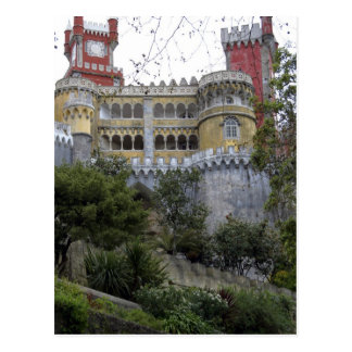 Europa, Portugal, Sintra. Pena Nationale 3 Briefkaart