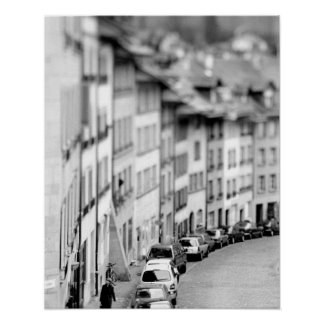 Europa, Zwitserland, Bern. De oude gebouwen van de Poster