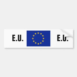 Europese Unie bumpersticker