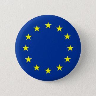 Europese Unie vlag Ronde Button 5,7 Cm