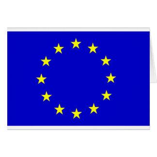 Europese Vlag Wenskaart