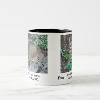 Eva Tweekleurige Koffiemok