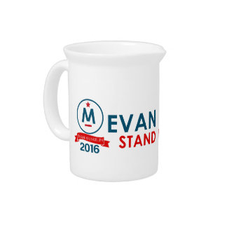 Evan McMullin - Tribune op Amerika! Drank Pitchers