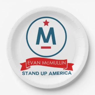 Evan McMullin - Tribune op Amerika! Papieren Bordjes