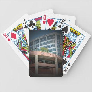 Evansville, IN speelkaarten Poker Kaarten