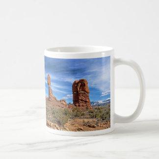 Evenwichtige rots, Utah Koffiemok