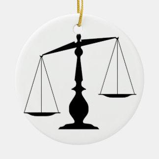 Evenwichtige Schalen Rond Keramisch Ornament