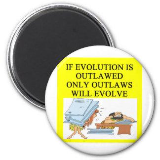 evolutie balling magneet