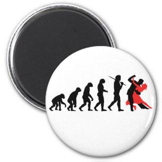Evolutie die - dansen magneet
