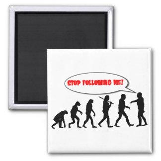 Evolutie. Einde die me volgen Magneet
