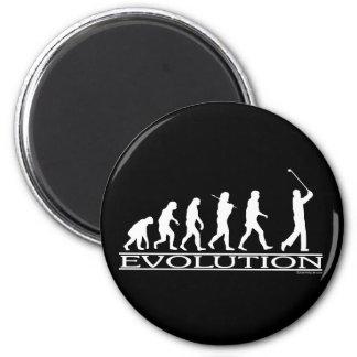 Evolutie - Man - Golf Magneet