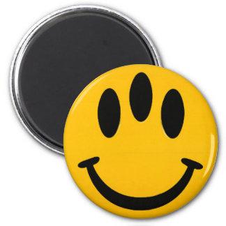 Evolutie Smiley Magneet