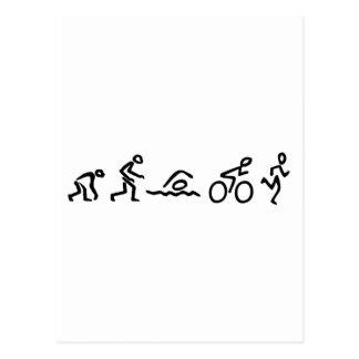 Evolutie Tri Briefkaart