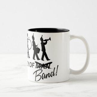 Evolutie van Band Tweekleurige Koffiemok