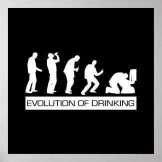 Evolutie van het Drink Poster