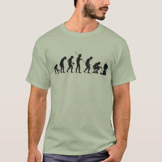 Evolutie van het Gokken Gamer van Videospelletjes T Shirt