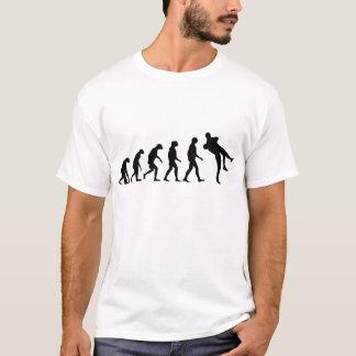 Evolutie van het Worstelen T Shirt