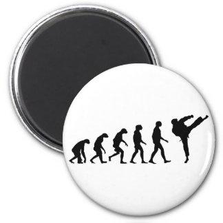 Evolutie van Karate Magneet