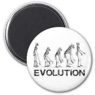 evolutie van maagdenvlies magneet